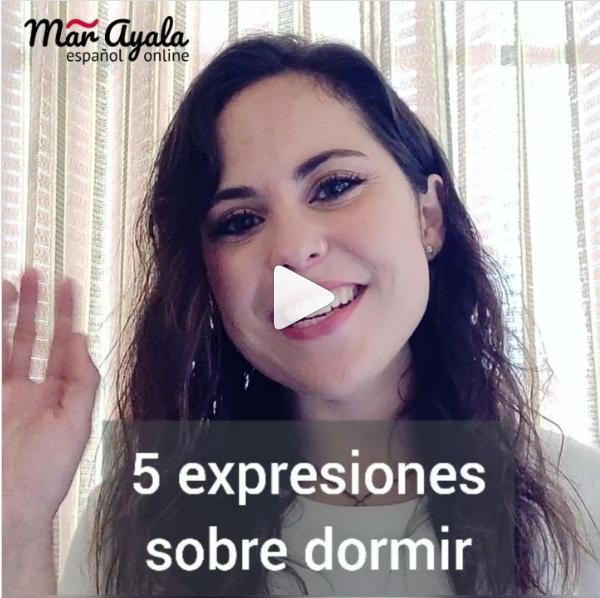 Dormir la siesta y otras expresiones sobre dormir en español