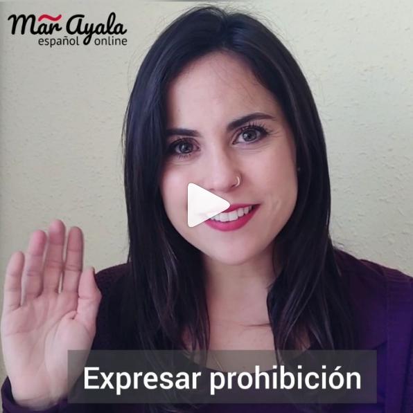 ¡Está prohibido! o ¡no está permitido! Aprende diferentes maneras de expresar prohibición en español