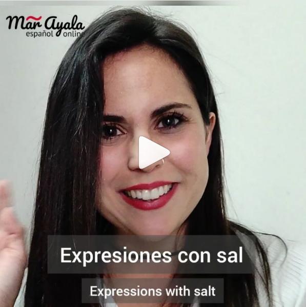 Expresiones con la palabra sal para ampliar tu vocabulario en español