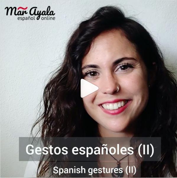 Los gestos españoles para comunicar lo que piensas a los hablantes de español