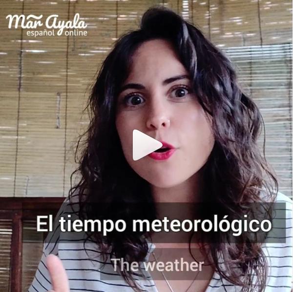 Las expresiones más habituales en español sobre el tiempo que hace