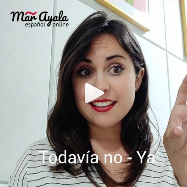 ¿Cuándo uso todavía no y ya cuando hablo y escribo en español?